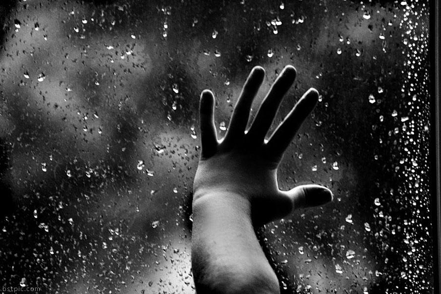 عکس+باران+پشت+شیشه